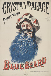 Advert for a Pantomime at Crystal Palace
